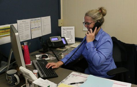 Attendance specialist ready for Friday rush