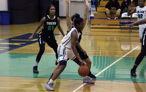 Junior Keya Patton and her teammates will play for a new coach next year.