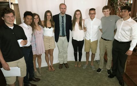 New members inducted into German Honor Society