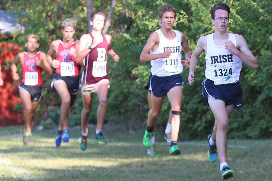 The+mens+cross-country+team+will+compete+at+the+State+Finals+on+Oct.+28+in+Terre+Haute.+
