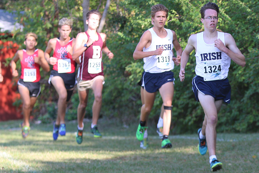 The men's cross-country team will compete at the State Finals on Oct. 28 in Terre Haute.