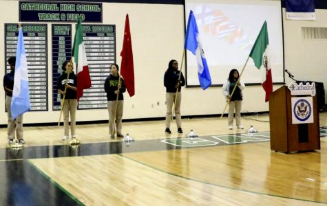 Multicultural assembly showcases diversity