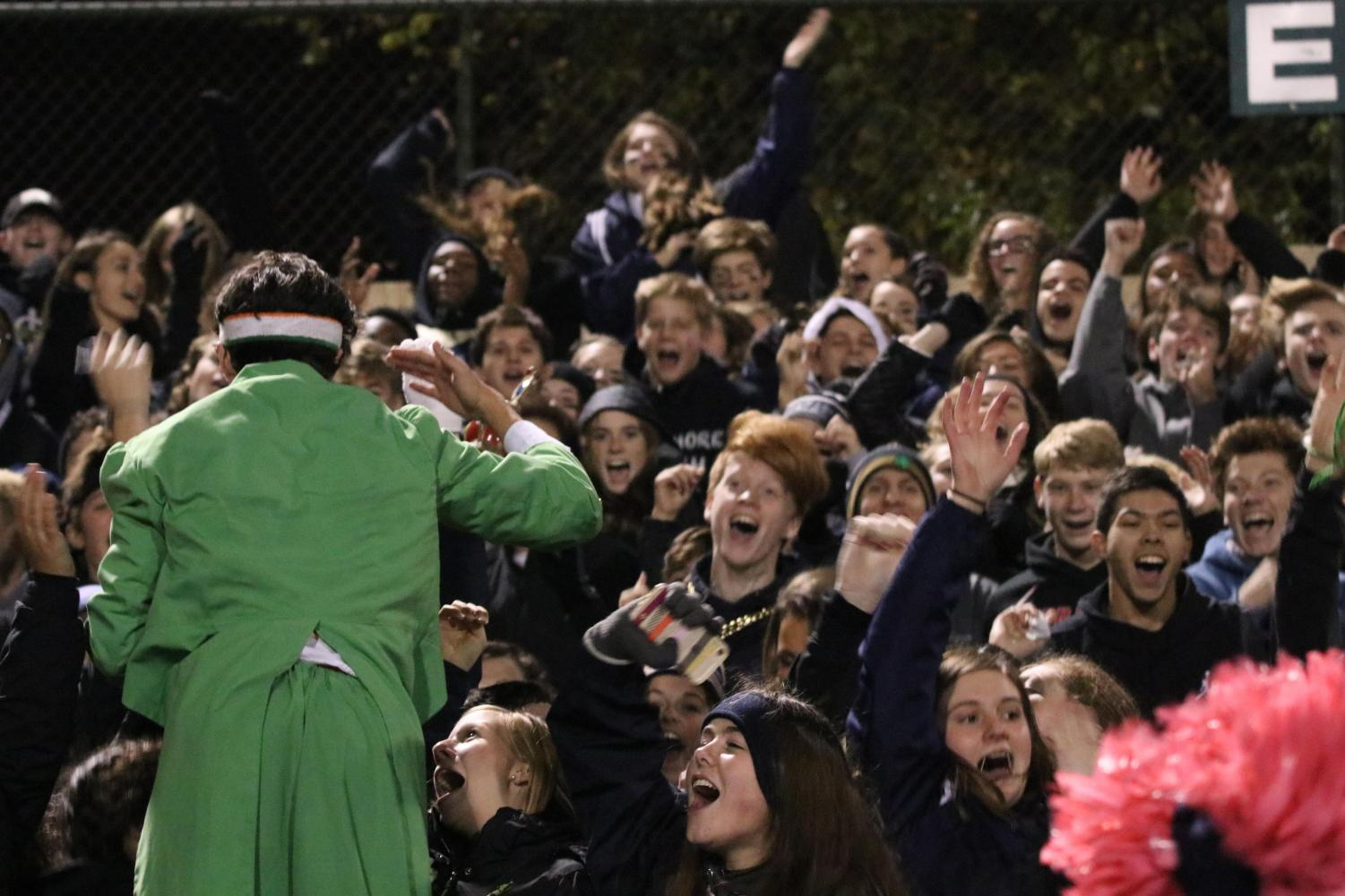 The student section at the Sectional opener at Tech will have the chance on Nov. 7 through Nov. 10 to buy tickets for the football Regional at Bloomington South.