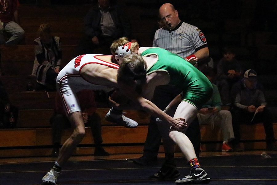 The Irish wrestlers will head to the City meet on Dec. 16 at George Washington.
