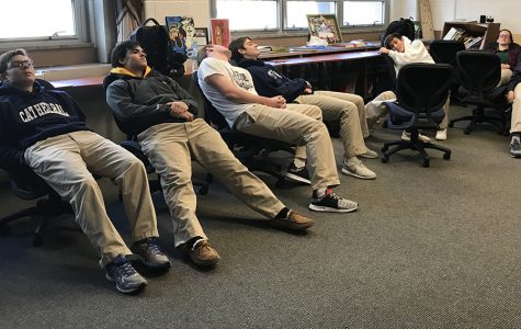 Being flexible during flex: Students meditate