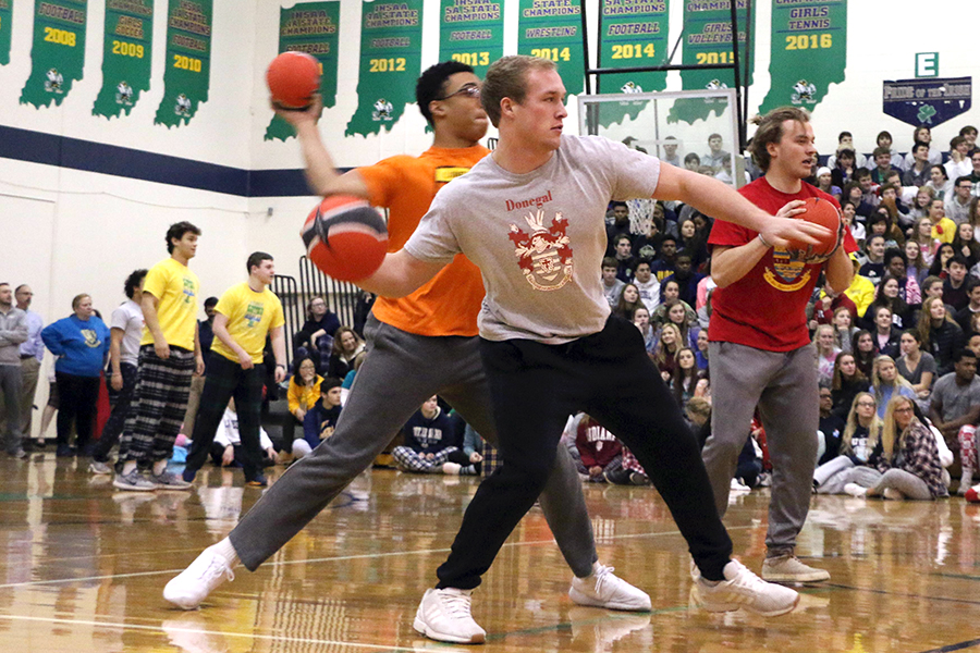 Winterfest on Feb. 9 will affect that day's class schedule. Last year's event included a game of dodge ball in the WAC.