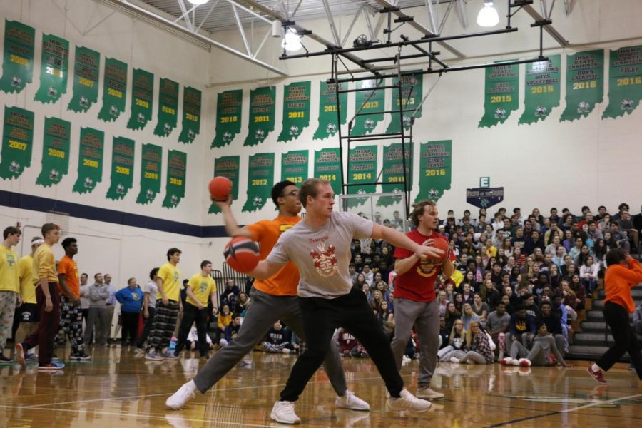 Winterfest will affect the class schedule for Feb. 9. Last years event included a game of dodgeball.