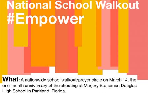 School will participate in March 14 walkout