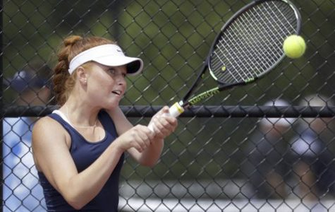 Senior tennis player, team have one goal: State title