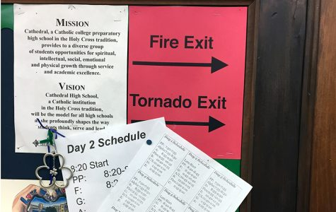 School prepares for statewide drill