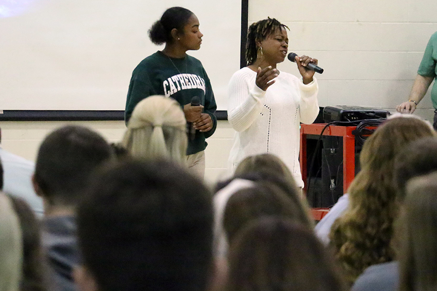 Sophomore Janay Zak, performing at the multicultural assembly, also plans to participate in the May talent show.