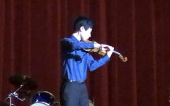 Freshman's success as violinist grows
