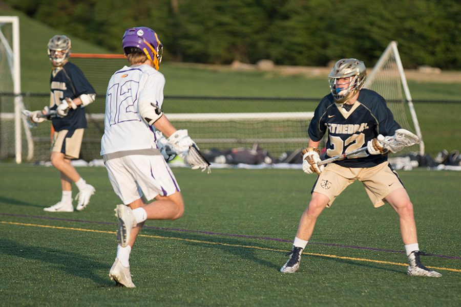 The men's lacrosse team will host on Hamilton Southeastern on May 8.