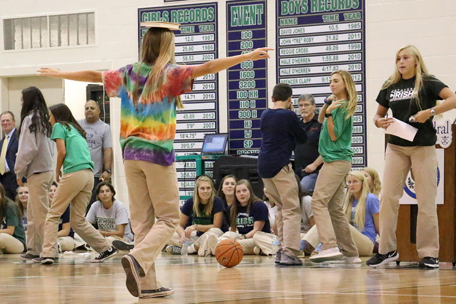 The welcome assembly is part of the tradition of the first day of school.