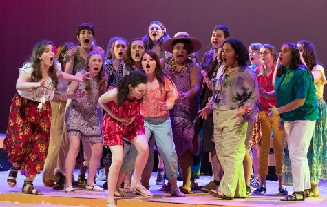 Actors take the stage during one of last year's productions.