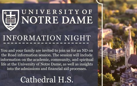 School to host Notre Dame information session