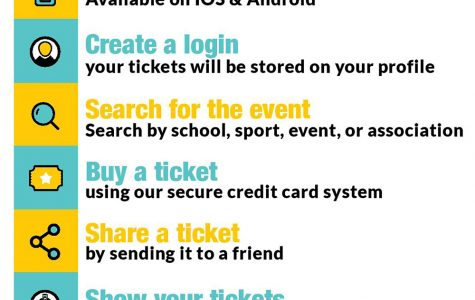 Use app to purchase football, soccer tickets