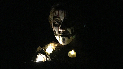 Scares were provided during last year's Trail of Terror, as will be the case this year.