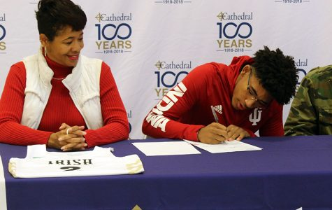 Franklin signs with IU, prepares for season opener