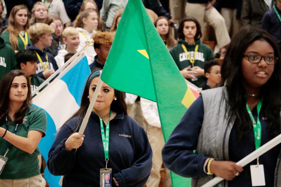 At last month's multicutural assembly in the Welch Activity Center, the diversity of the student body was on full display. The same level of diversity is not the case for the current faculty and staff, and  school administrators are attempting to address this issue.