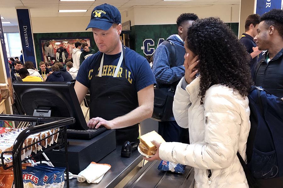Students need to add money to their lunch accounts no later than 10:30 a.m. to have funds available that day, according to the business office.