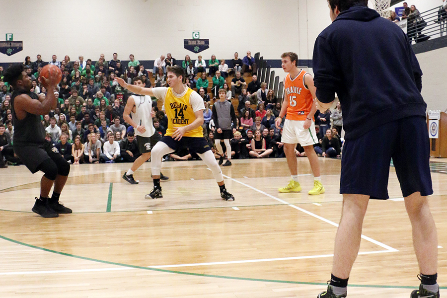 Last year's intramural championship game took place during Winterfest, and that will be the case again this year on Feb. 1 in the Welch Activity Center.