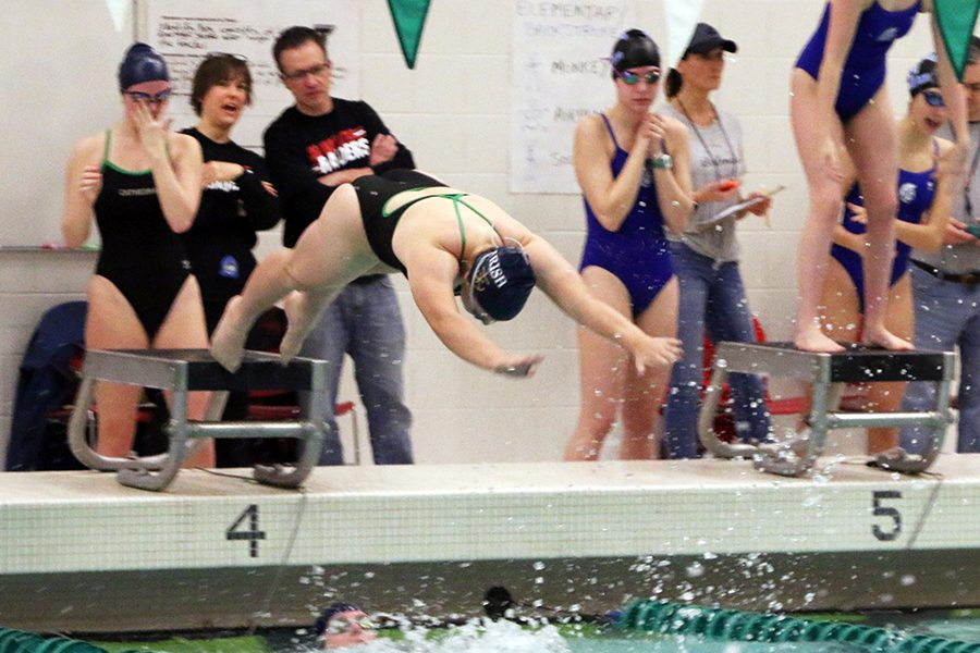 The women's swimming Sectional prelims are Jan. 31 at North Central, with the Sectional finals on Feb. 2.