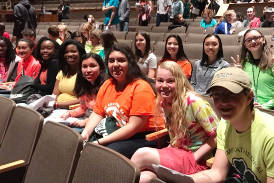 Students participated in last year's State Spanish competition. The event this year is March 2 at Southport High School.