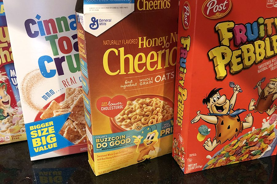 Students donate 1,400 boxes of cereal to Dayspring – THE