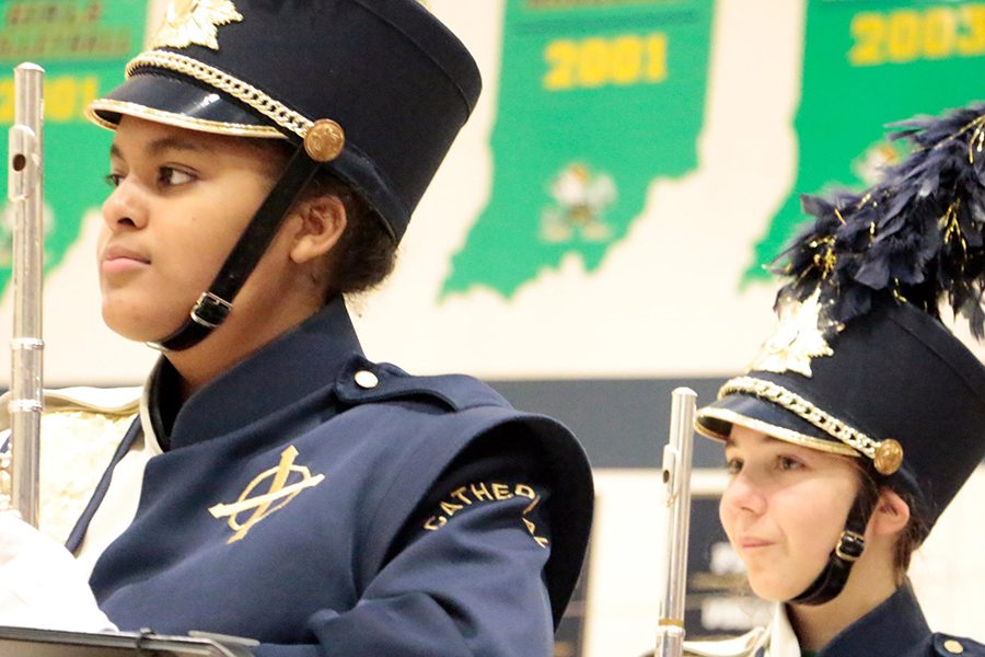 The annual Pride of the Irish marching band fund-raiser on Feb. 1 is still on. The band performed at Open House at the beginning of the school year.