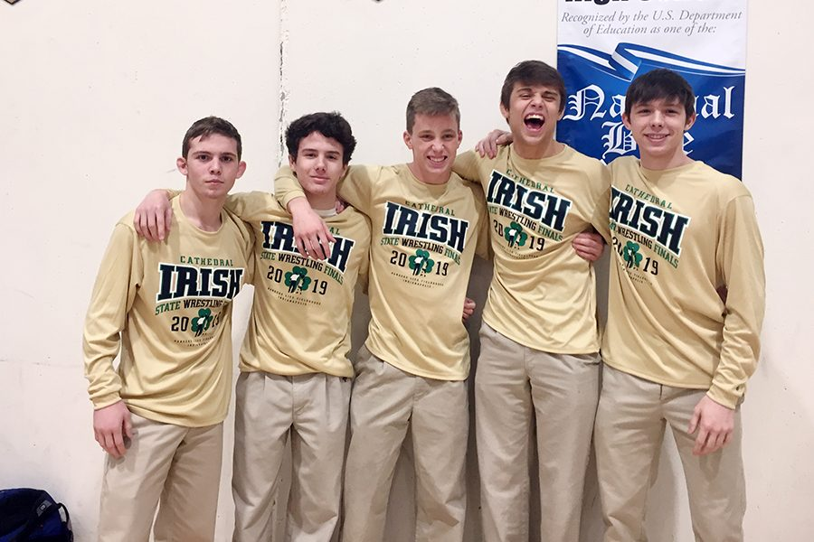 Five wrestlers qualified for the State meet Feb. 15-16 at Bankers Life Fieldhouse in Downtown Indianapolis.