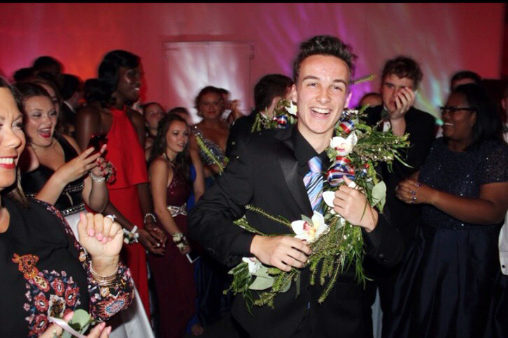 Senior+Class+president+Connor+Helmen+was+crowned+the+prom+prince+during+his+junior+year.+