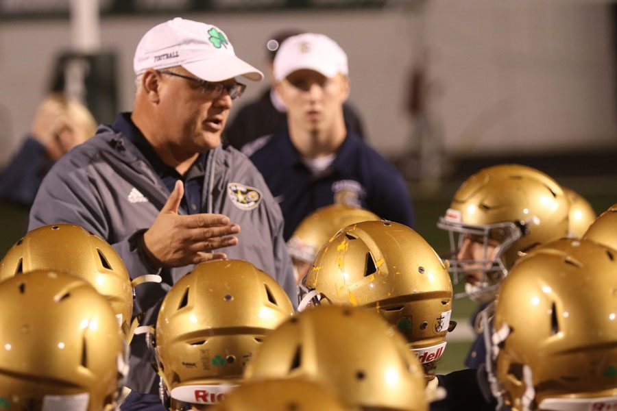 Coach Peebles outlines football season options