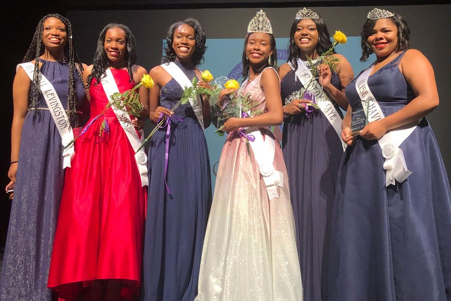 Six Cathedral students participated in the Sept. 21 Circle City Classic Coronation.
