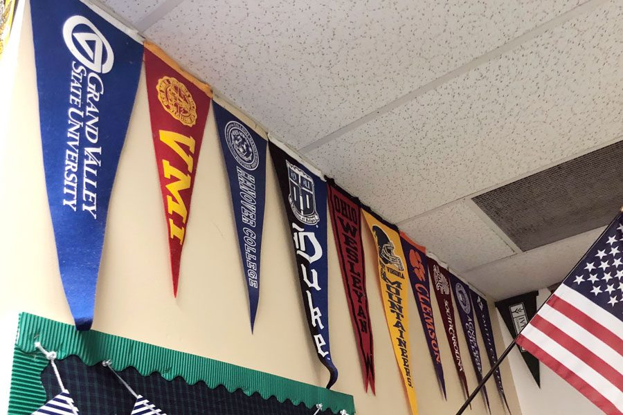A college fair with several out-of-state schools in take place Sept. 19 during flex.