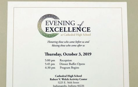 Evening of Excellence scheduled for Oct. 3