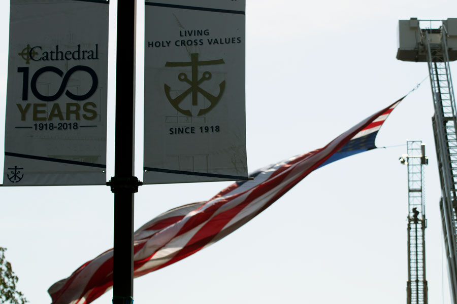 Cathedral honors 9/11 victims, first responders