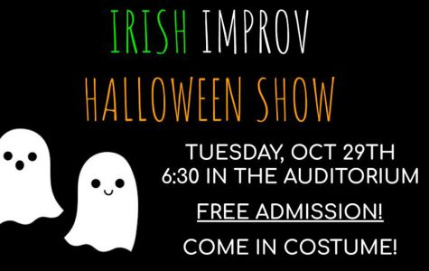 Irish improv team to host Halloween show