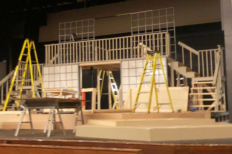 The stage is set for the annual fall drama production on Nov. 22, Nov. 23 and Nov. 24.