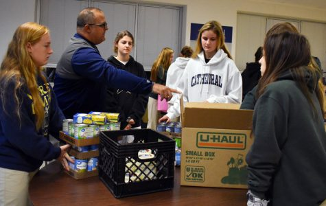 Canned food drive benefits local organizations