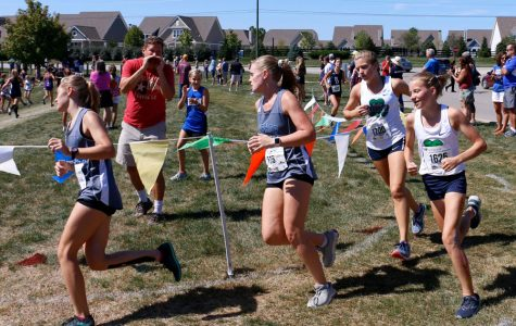 The women's cross-country team, shown participating in a meet last fall, has a new head coach.
