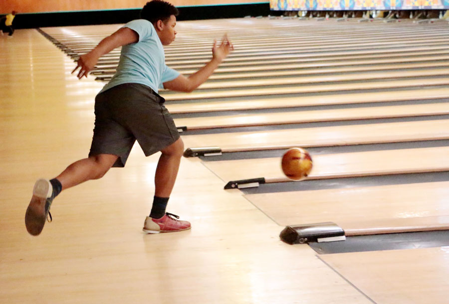 The bowling team will be in action on Nov. 25.