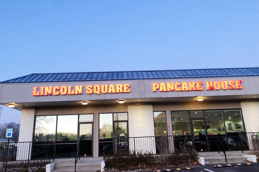 Lincoln Square serves as the site of Lumberjack Club meetings.