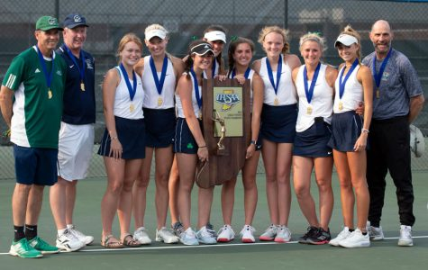 The women's tennis team won the State championship last spring.