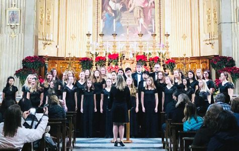 Choirs prepare for annual Christmas concert