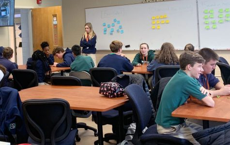 Class prepares peer mentors for their new roles