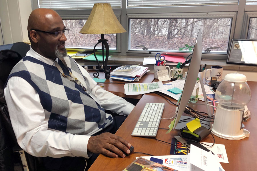 Mr. Ken Barlow '82 provided his perspective on the recent change to the Common App self-reporting change.