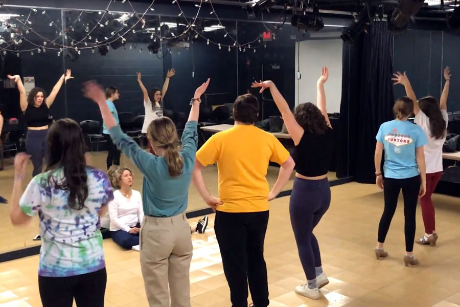 %22Hairspray%22+cast+members+learning+a+dance+number+during+an+after-school+rehearsal+on+Jan.+15.+