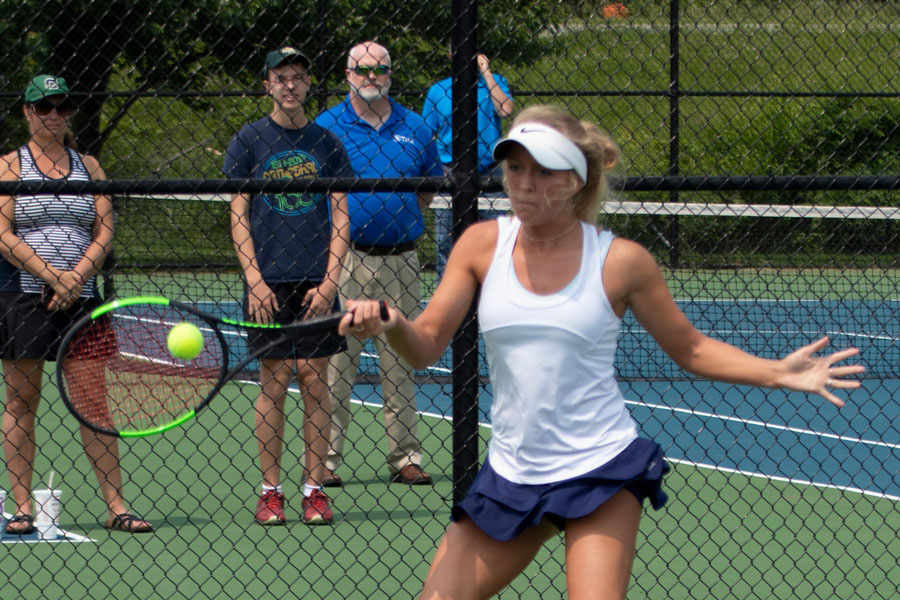 The women's tennis callout will take place Feb. 18 during flex.