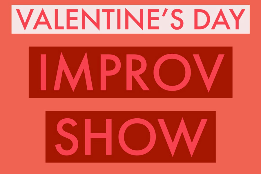 The+improv+team+will+host+a+show+in+the+auditorium+on+Feb.+14.+